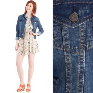 Jackets & Blazers - SOLD! Classic ModCloth Thread&Supply Denim Jacket!